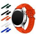 20mm correas de reloj correa de 2017 de la nueva manera de silicona deportes pulsera de silicona banda correa para samsung gear s3 clásico correas