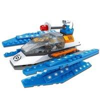 Space Star Wars Biplane lutador robô guardião do céu modelos em escala Brinquedos Conjuntos de Blocos de construção Estrela Tijolo Kit DIY playmobil