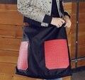 2016 Top Grade New spring women handbag large capacity shopping bags Fashionable casual shoulder bag 1501#