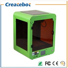 Createbot Mini 3D Printer Kit Dual MK8 Extruder 150*150*220mm Print Size Touch Screen Semi-Automatic Model With 3D Filament