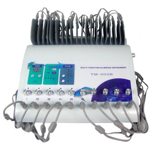 Apparecchiatura di bellezza di ridurre la cellulite stimolazione muscolare elettronica macchina di dimagrimento TM-502BApparecchiatura di bellezza di ridurre la cellulite stimolazione muscolare elettronica macchina di dimagrimento TM-502B