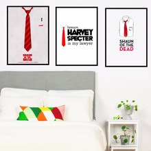 Shaun of the Dead Movie Canvas Art Print Painting Poster Wall Pictures For Living Room Home Decorative Bedroom Decor No Frame