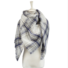 High Quality new arrival Plaid Scarf Women Cashmere Winter Scarf Female Warm Tartan Foulard Shawl square Scarves