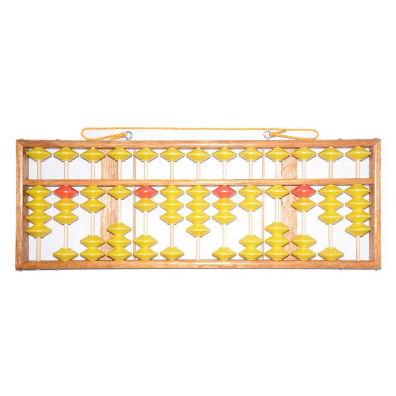 High Quality 13 Column Wood Hanger Big Size NON-SLIP Abacus Chinese Soroban Tool In Mathematics Education For TeacherHigh Quality 13 Column Wood Hanger Big Size NON-SLIP Abacus Chinese Soroban Tool In Mathematics Education For Teacher