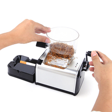DIY 8mm Electric Cigarette Rolling Machine Automatic Tobacco Roller Maker Metal Cigarette Tray Electric Tube Machine Smoking