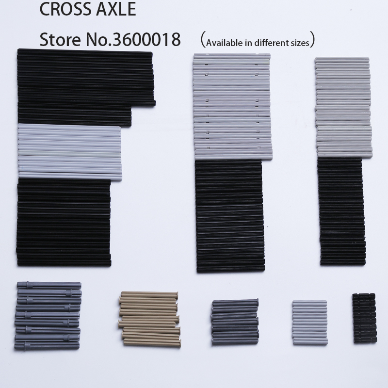 470pcs/50pcs Decool Technic Parts Bulk Cross Axle Series MOC DIY Bricks Block Toys Parts 32062 4519 3705 32073 3706 44294 3707