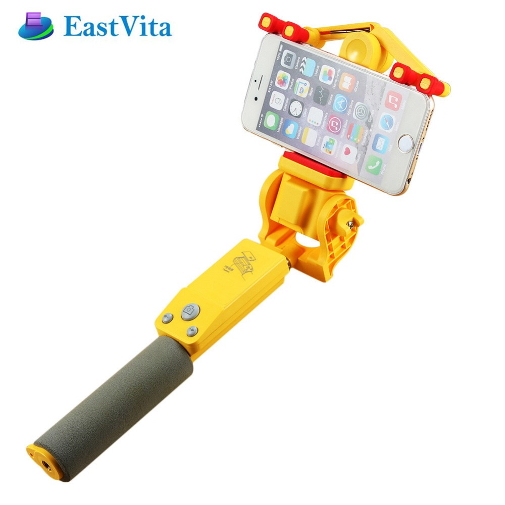 Eastvita ip666 360 grados Smart rotación extensible selfie stick Wireless Bluetooth 4.0 Control remoto para iOS 4.0 Android