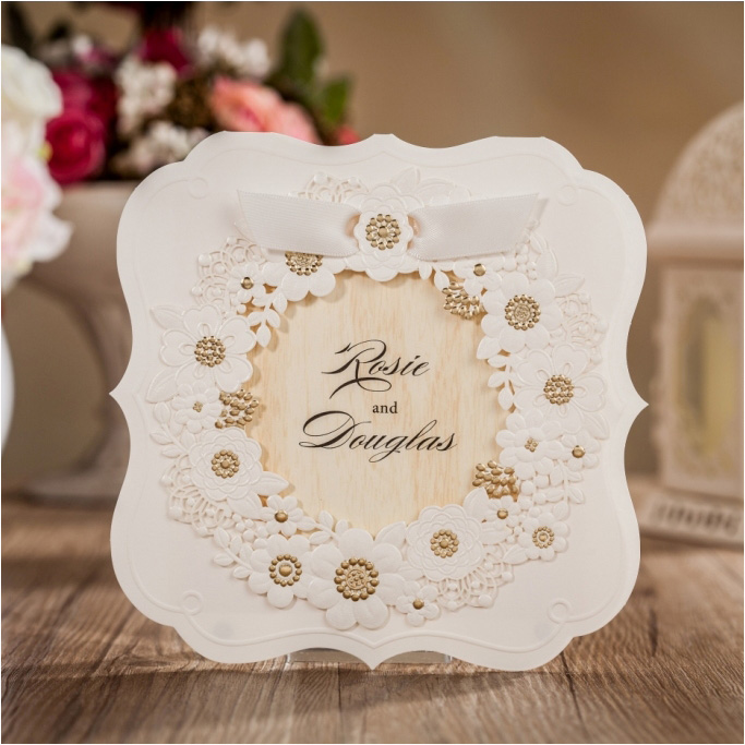 Floral Wedding Card Manufacturer From Hosur: Aliexpress.com : Buy Unique Wedding Invitations Cards 2016