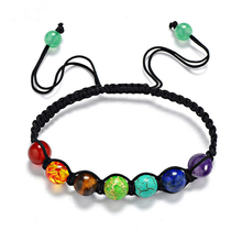 NEW Arrival 8mm DIY Women/man natural green stone beads silver buddha Yoga Reiki Prayer Energe Bracelet Qa03 new arrival 100% real silver bracelet man breacelets buddhism 20cm