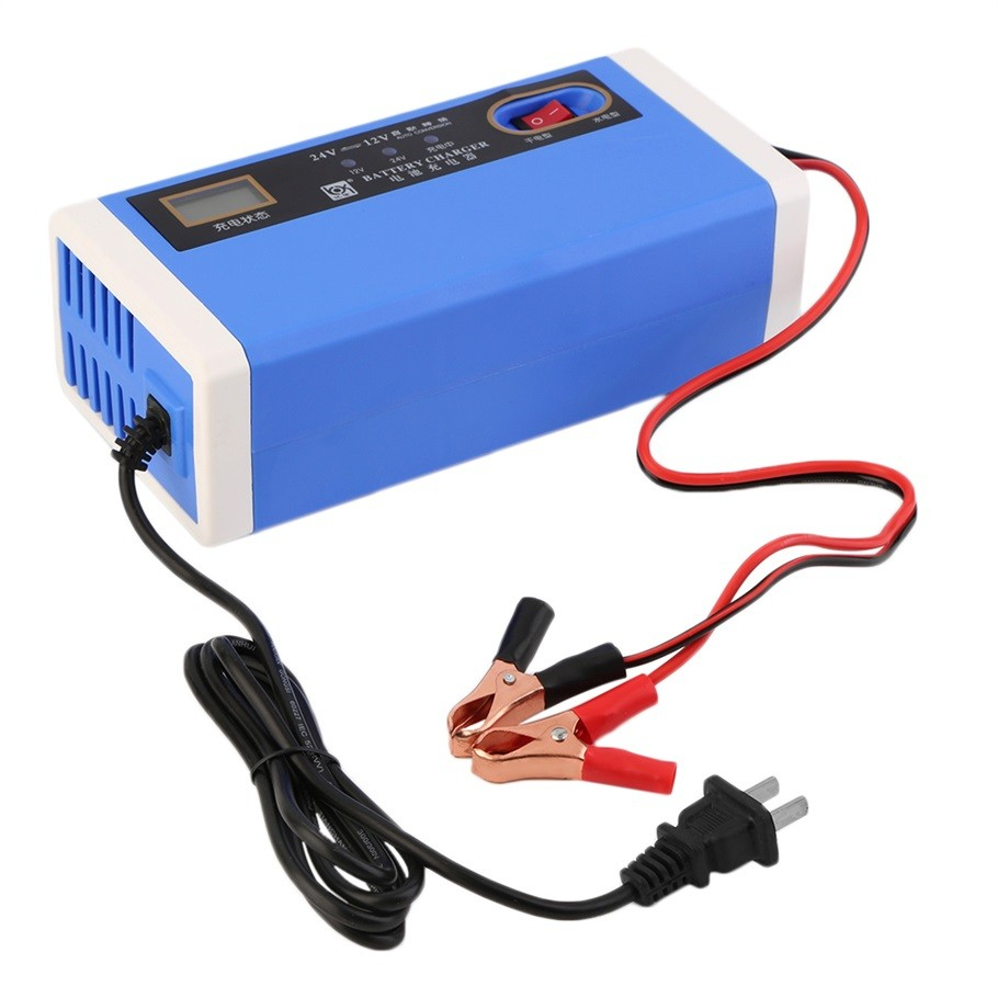 12v 24v motorcycle charger car auto battery charger 10a (2)