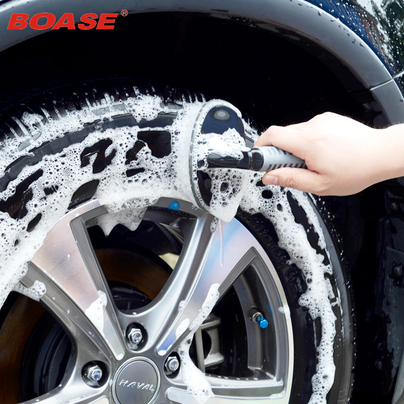 Dust Remove Car Tire Wheel Cleaning Washing Tools Car Tyre Brush Duster Scrub Car Wash Auto Care Detailing High Quality