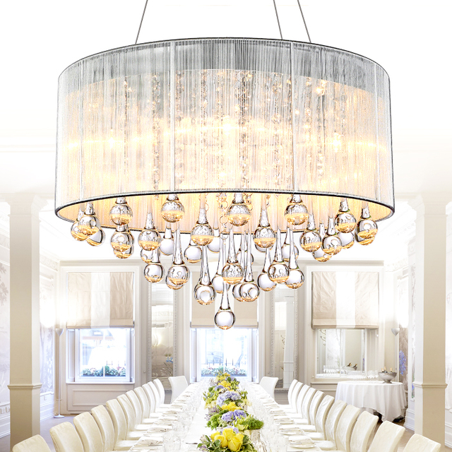Moderne kristall lampe schlafzimmer esszimmer lampe höhle LED mode ...