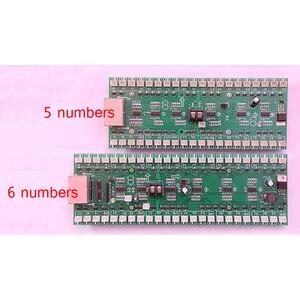 Image 3 - 4/5/6 números uso do cartão de motorista para 18 polegada a 32 polegada led digital número módulo de óleo gás preço led sinal de controle cartão