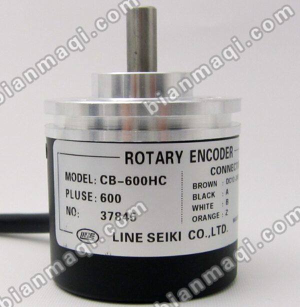 The new CB-600HC Rhine LINE encoder pulses 600p / R shaft diameter 6mm outer diameter of 38mm