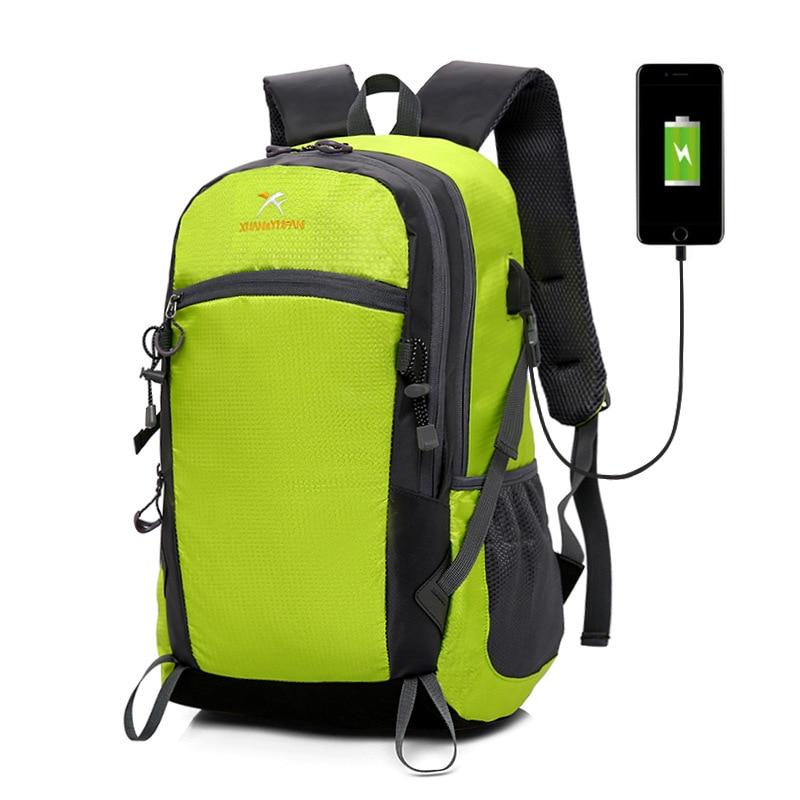 все цены на 2018 Brand School bag Nylon Women Backpack Waterproof Men's Back Pack Laptop Mochila Designer Computer Backpacks Male Escolar онлайн