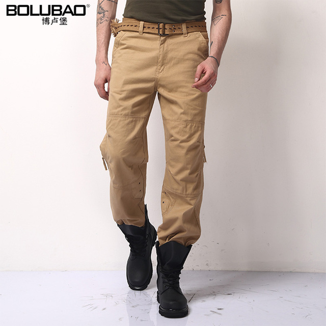 2016 New Arrival Big Size Summer Style Cotton Men Pants Casual Men Brand Clothing Military Army Green Khaki Mens Brand