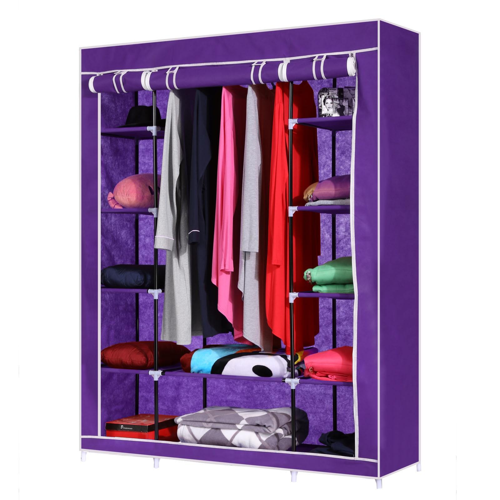 Homdox Bedroom Furniture Folding Cloth Wardrobe Portable Clothes Closet  Cloth Cabinet Large Capacity Wardrobes In Wardrobes From Furniture On  Aliexpress.com ...