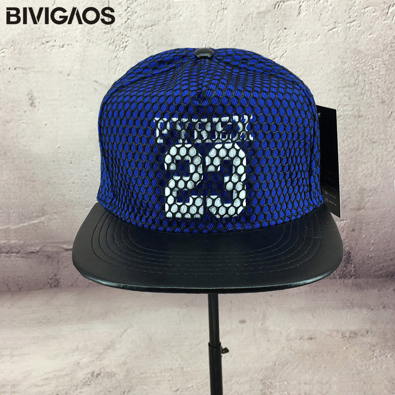 8672de166496 Fashion Snapback Caps Truckfit 23 Letters Embroidery Mesh Hip Hop Cap  Leather Brim Hats Baseball Caps Men Women Chapeau Gorras-in Baseball Caps  from Apparel ...