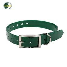 NIMBLE Collares de perro ajustable TPU + collar de nylon para pequeños perros grandes Collar de entrenamiento cómodo collar al aire libre para productos de mascotas