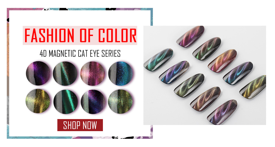 4D cat eye gel varnish