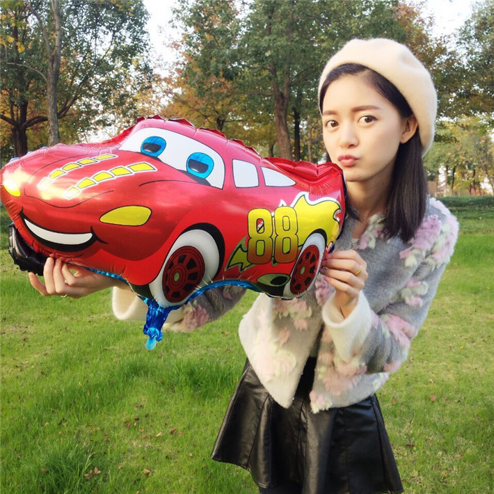 1 Pcs/lot Cartoon Car Foil Balloons Star Helium Balloon Inflatable Children Classic Toys Happy Birthday Balloons Party Supplies