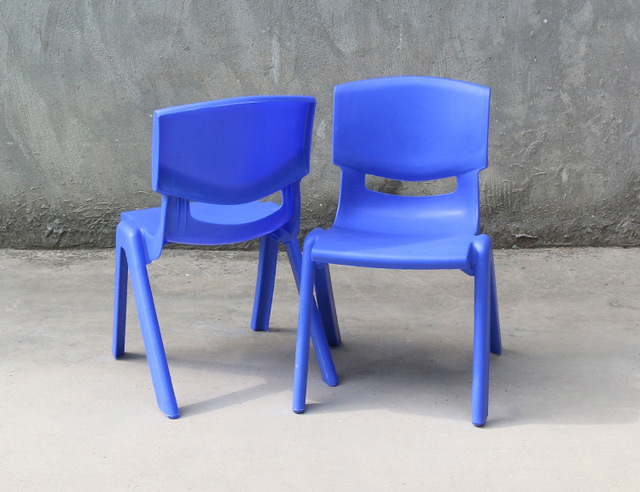 24cm Seat height Safety Thicken Kindergarten chair small stool back-rest chair for 1-2 years kids 1