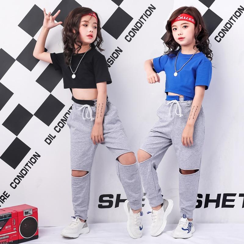 Tween Girl Fashion Black: Teenage Girls Clothing Styles Black Blue Summer Crop Tee