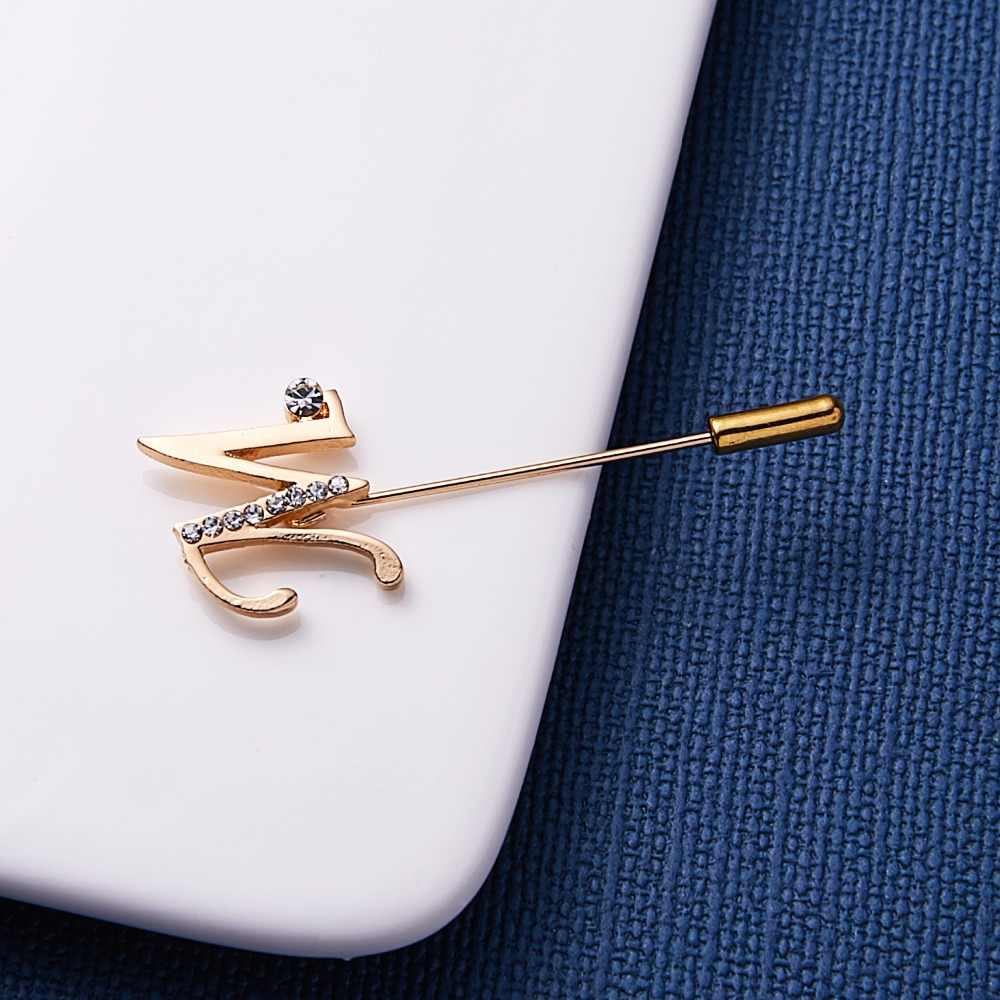 Rinhoo Letter Rhinestone Word Pin Brooch/Butterfly Rhinestone Semi-precious Stone Needle Brooch Jewelry For Women
