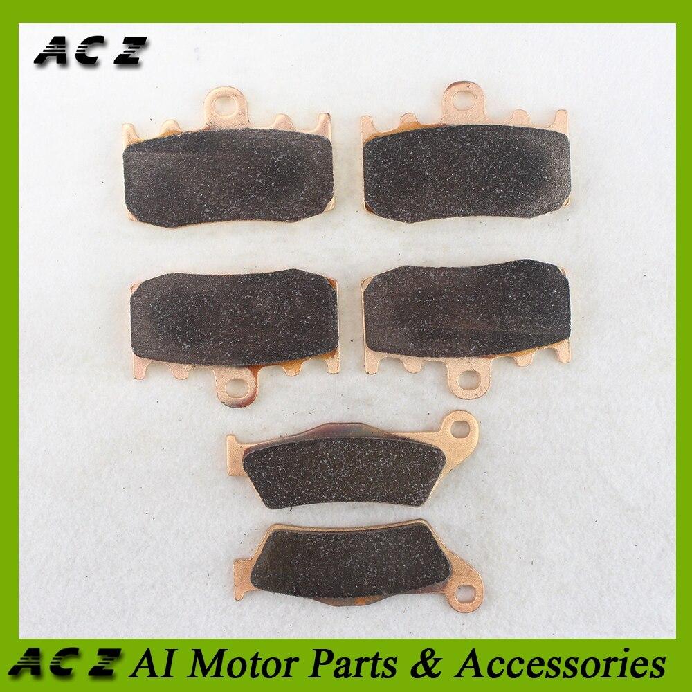 ACZ Motorcycle Front Rear Brake Pads Copper Based Sintered Brake Pad Set Disk Pad For BMW