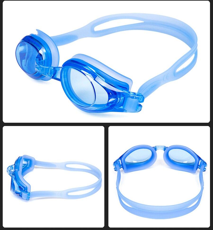 Anti-Fog UV Swimming Goggles For Myopia With Silicone Diopters Swim Sports Eyewear 8