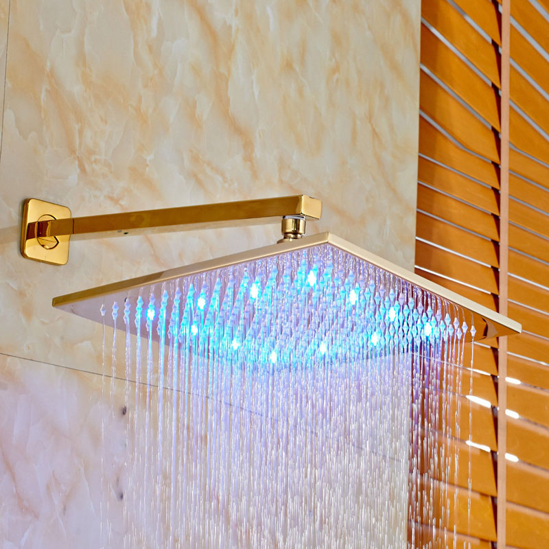 LED Light Color Changing Gold Finish 12\