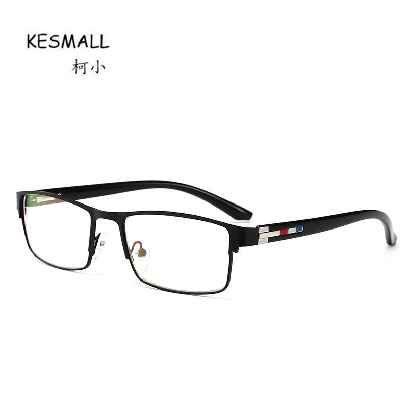 KESMALL New Fashion Prescription Diopter Glasses Men Square Shaped Spectacle Frame With Myopia Lens Women Reading Eyewear XN699P new hot fashion unisex women men hipster vintage retro classic half frame glasses clear lens nerd eyewear 4 colors
