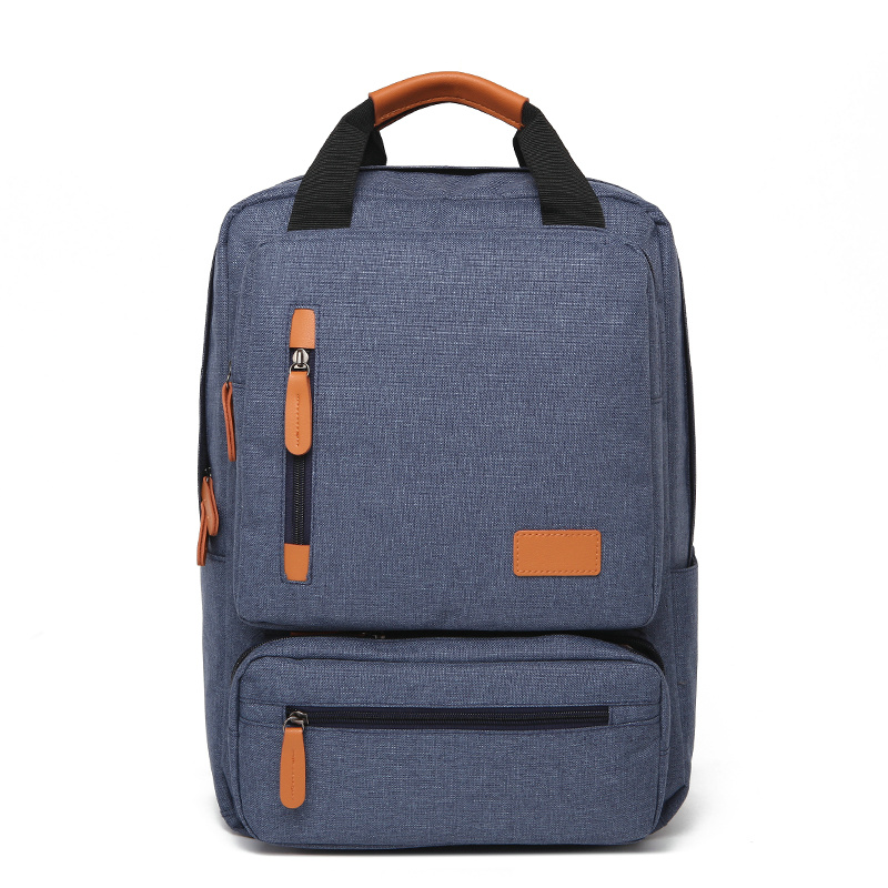 Business Laptop Backpack Canvas Backpack For Teenager Urban  Bags Popular Male Student Bag