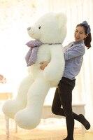 stuffed animal 160 cm Huggy Bear plush toy white bear doll throw pillow gift w3354