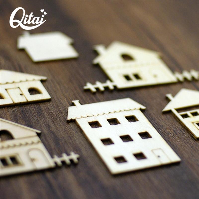 QITAI 18 дана ағаштан жасалған - Үйдің декоры - фото 4