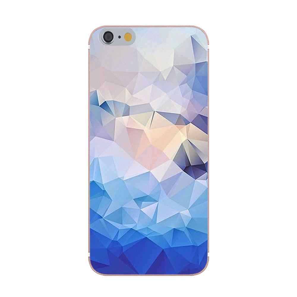 Oedmeb Topaz rubinowy kryształ Hon oszołomiony geometryczne dla iPhone X 4S 5S 5C SE 6 S 7 8 Plus Galaxy uwaga 5 6 8 S9 + Grand rdzeń Prime alfa