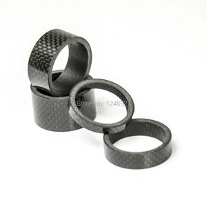 Headset Spacers carbon spacer 4 stks van 5mm/10mm/15mm/20mm Stuurpen Spacer1-1/8 inch Fiets Headset Kit Voor Bike
