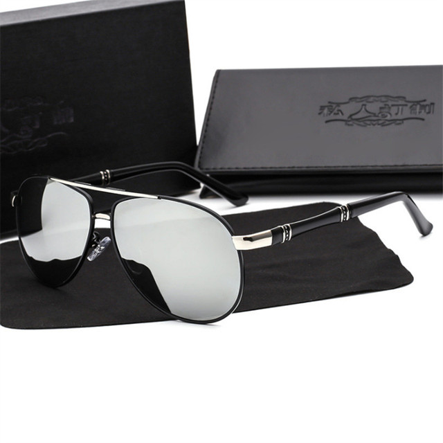 1b5dee539e Men s Sunglasses Customize Prescription Sunglasses Polarized Glasses  Fashionable Bright Men Driving Glasses Designer Sunglasses
