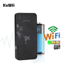 Wireless WIFI Router 10000mAh Power Bank 3G WIFI Router Mobile WIFI Hospot RJ45 port With SIM Card Slot Support 800Mhz 2100Mhz