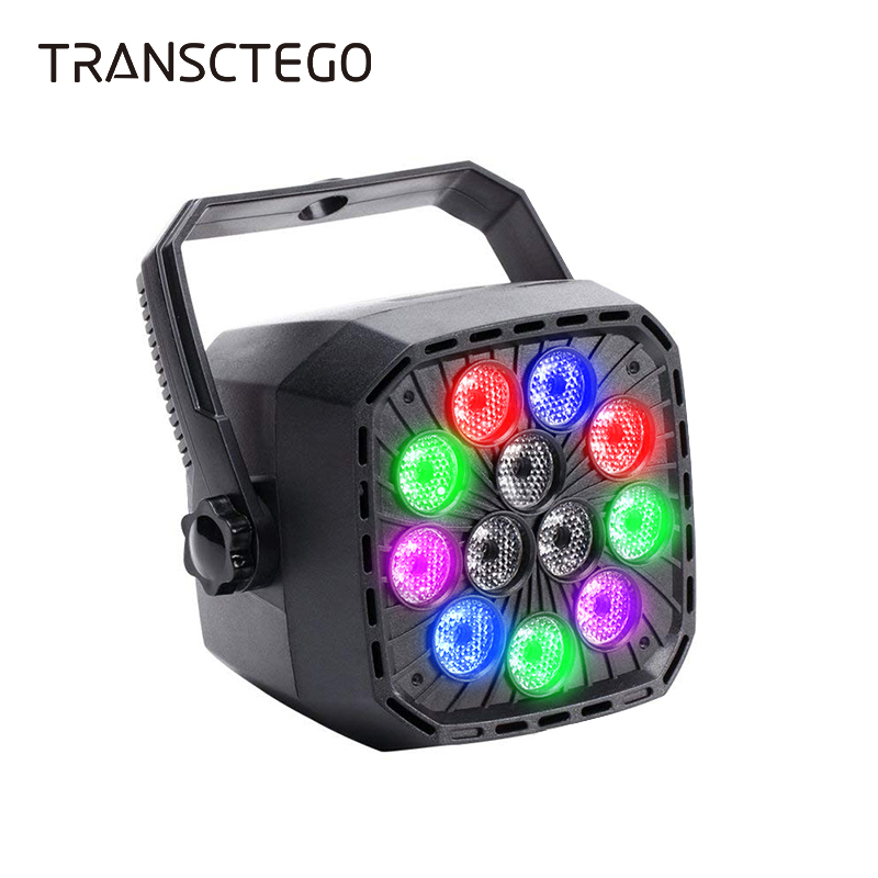 12 LED Par Light Stage Disco Light Laser RGBW Auto Master DMX 512 Wall Lighting DJ for Xmas Club Disco Par Party Lamp Spotlight in Stage Lighting Effect from Lights Lighting