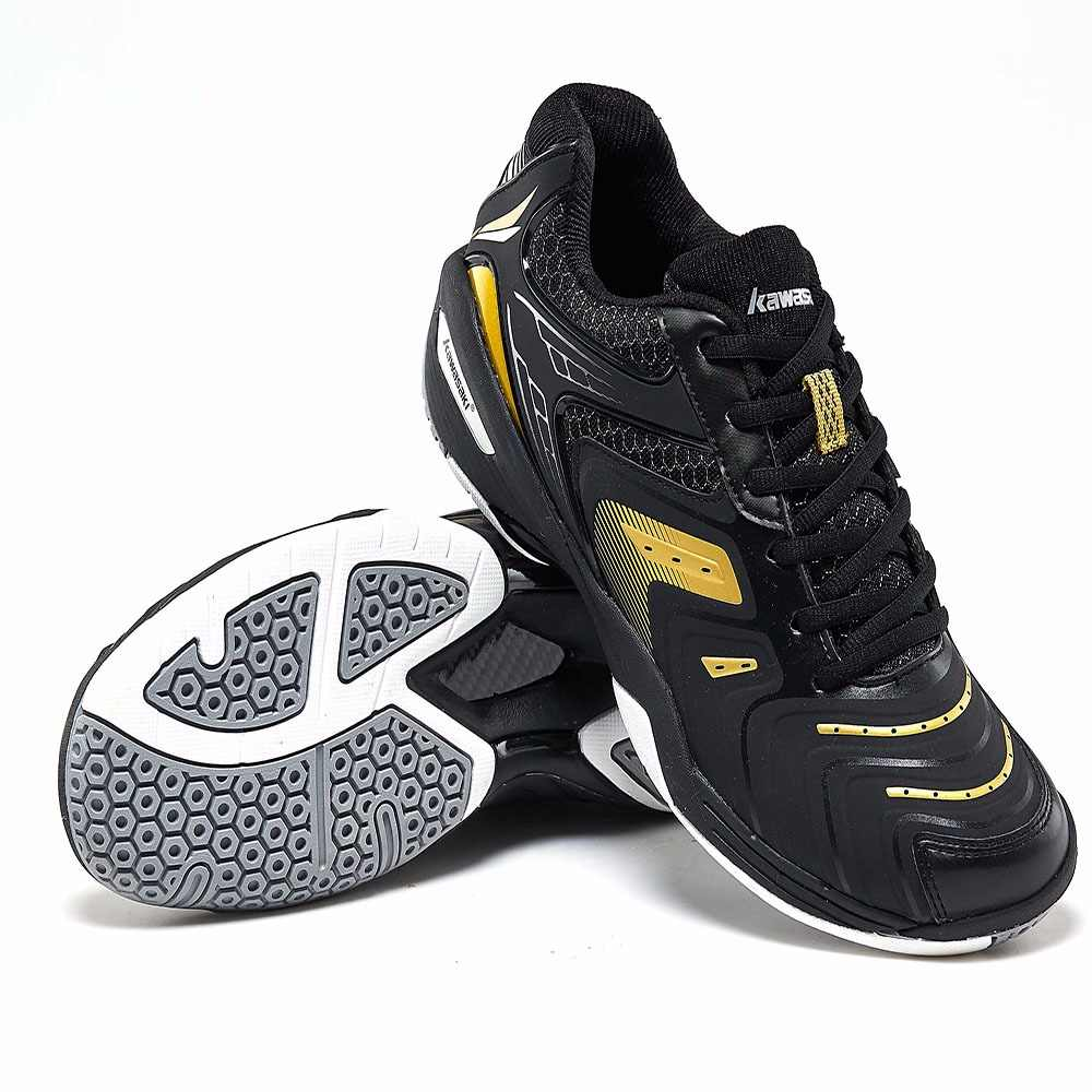 2019 Original Kawasaki Badminton Shoes Men Zapatillas Deportivas Wear-resistant Breathable Sneakers Sport Shoes K-353 K-522