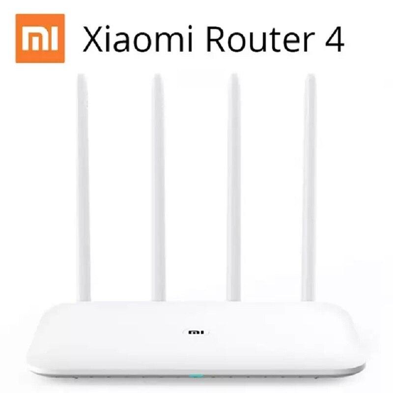 Xiao mi mi routeur wifi 4 répéteur wi-fi Dual Band Dual Core 1167 Mbps 2.4G 5 Ghz 802.11ac Quatre Antennes APP contrôle Sans Fil Routeurs