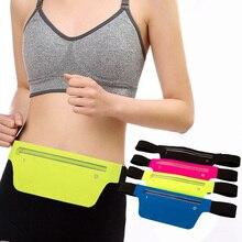 Unisex Running Waist Bag Gym Bag Anti-theft Sporting Keys Cellphone Pouch Waist Bag Fanny Pack Running Sports