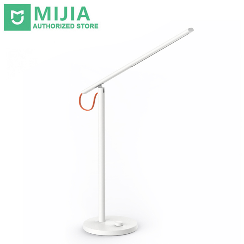 Xiaomi Mijia Smart LED Desk Lamp Table English Version Lamps Desk light Smartphone App Remote Control With Redmi 4 Lighting Mode remote control led light creative monje smart air purifier wireless night lights sensor lamps gift table desk lamp