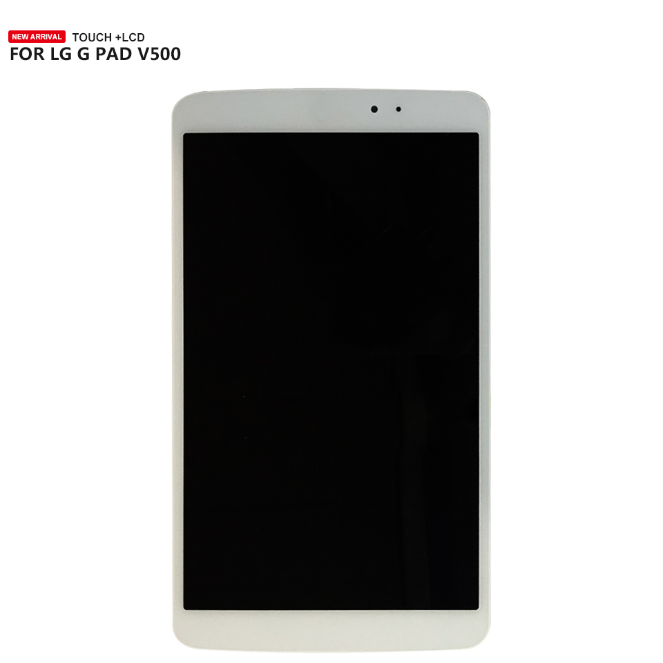For <font><b>LG</b></font> G PAD 8.3 Wifi <font><b>V500</b></font> Lcd Display <font><b>Touch</b></font> <font><b>Screen</b></font> Digitizer Panel Assembly Free Shipping image