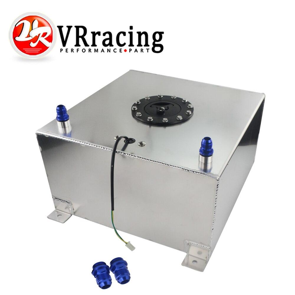VR RACING 20 галлонов 40л алюминиевый гоночный Дрифт топливных элементов бак с уровнем отправителя пены топливного перенапряжения бак VR TK40