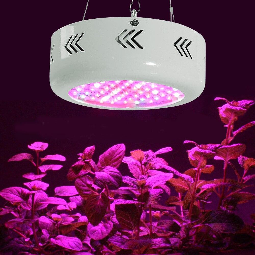 ITimo élèvent des lumières Mini UFO AC 85-265 V spot plein spectre 216 W intérieur plante lampes à effet de serre système hydroponique