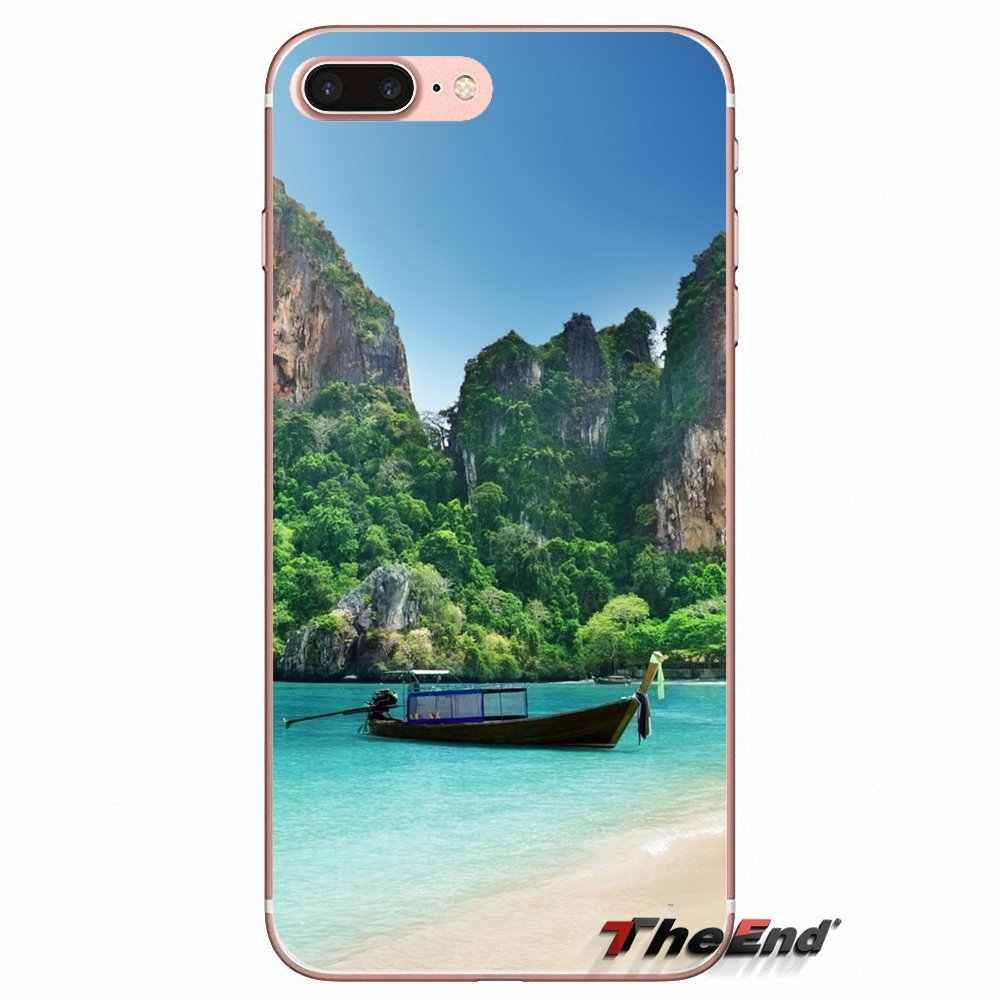 น่ากลัวกรุงเทพประเทศไทยออกแบบโทรศัพท์กรณีสำหรับ Sony Xperia Z Z1 Z2 Z3 Z5 ขนาดกะทัดรัด M2 M4 M5 E3 T3 XA Aqua LG G4 G5 G3 G2 Mini Capa