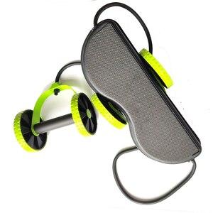 Image 5 - AB 바퀴 롤러 스트레치 탄성 복부 저항 끌어 오기 로프 도구 AB 롤러 복부 근육 트레이너 운동