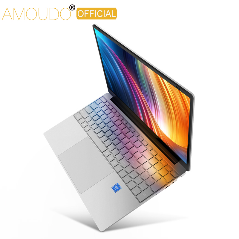 15.6inch Gaming Laptop 8GB RAM 256GB/512GB/1TB SSD Intel Core i3 5005U 1920*1080P FHD IPS Screen Computer Notebook-in Laptops from Computer & Office